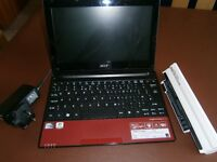 ACER ASPIRE NETBOOK for spares only