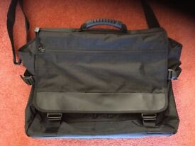 Black Laptop Bag / Briefcase with Shoulder Strap Never Been Used