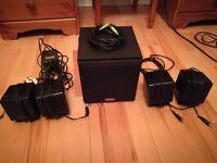 PC multimedia sound system