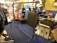 Clothing rail- heavy duty ideal for shops/retail