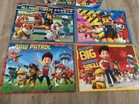 Paw patrol puzzles - 4 x 42 pieces