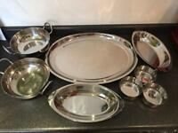 Indian Serving Dishes Set (Debenhams)
