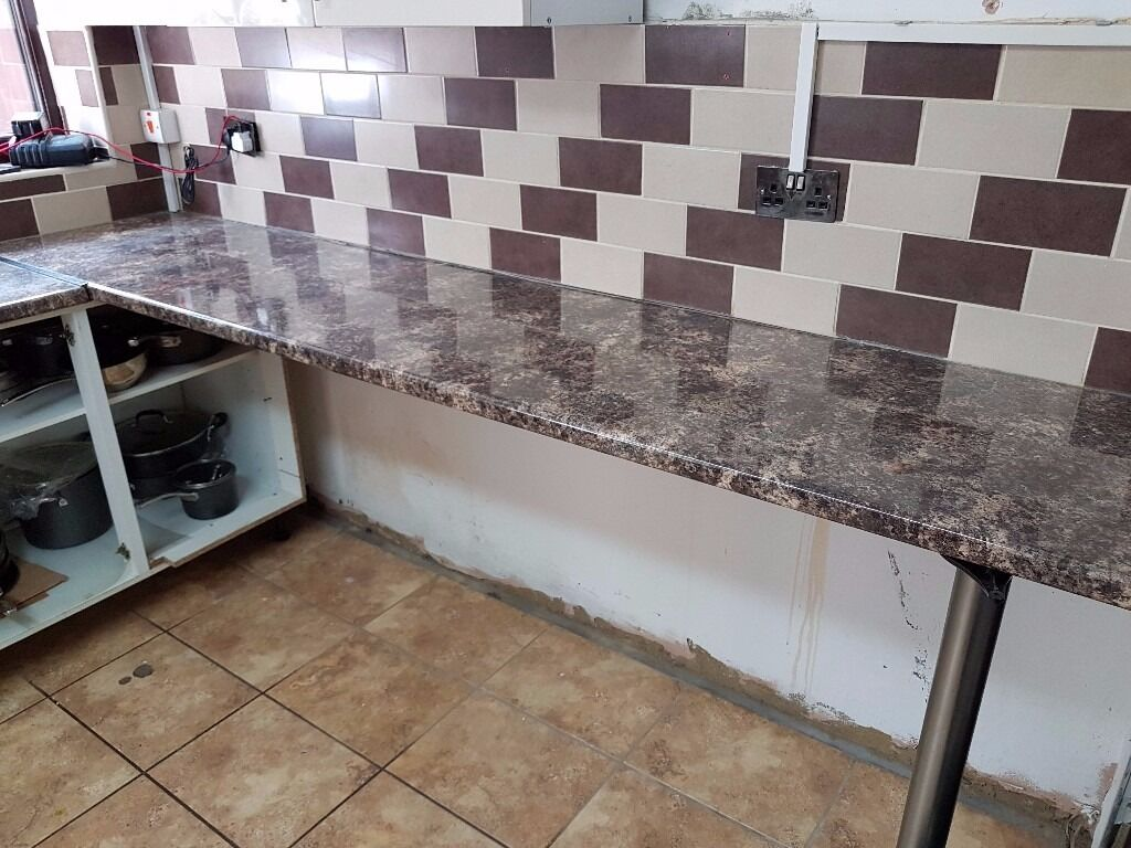 Kitchen Worktop Wickes Gloss Laminate Caribbean