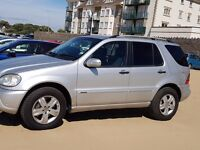 MERCEDES ML 270 CDI SE 2005 7 SEATER