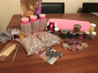 Various nail items