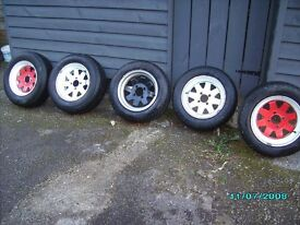 5 weller wide steel wheels