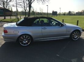 BMW series 3, convertible, 2.0 automatic