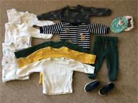 Boys bundle of clothes 12-18 months