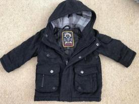 Boys NEXT Duffle Coat 12-18 Months