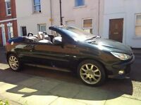 Peugeot 206 cc Convertible 2.0 petrol only 51k