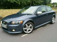 2009 59 VOLVO C30 R-DESIGN 1.6D DRIVE*FSH*1OWNER*LEATHER*EL-PACK*R.TAX-£30+CHEAP INS*#AUDI#BMW