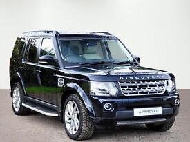 Land Rover Discovery SDV6 HSE LUXURY (black) 2014-12-22