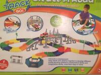 Kids conjoined track game toy