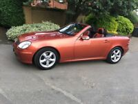 Mercedes SLK 320 Automatic - convertible - low mileage - electric roof - new battery -