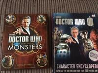 2 x Brand new Dr Who books