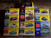 COLLECTION OF 13 LLEDO VANGUARDS, Diecast 1:18 and 1:64 scale model cars, vans, lorries