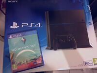 PS4 500GB UNOPEN BOXED 1 GAME