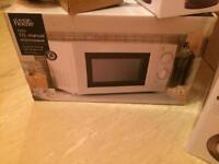 Brand new sealed microwave