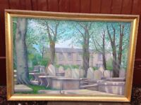 Beautiful Oil Painting of Bronte Parsonage