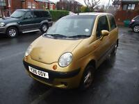 DAEWOO MATIZ 5 DOOR HATCHBACK FOR SALE