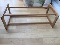 John Lewis extendable shoe rack