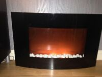 AS NEW Wall Mounted Electric Fire