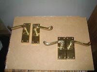 Internal door handles
