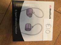 Sport wireless headset.