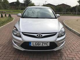 Hyundai i30 1.6 Comfort Automatic 5dr Silver Only 17K Mileage Part Ex Welcome