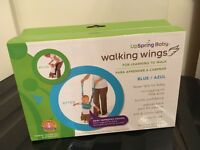 Walking wings by UpSring Baby in blue.