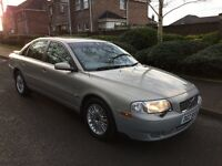2004 Volvo S80 2.0 Turbo Petrol Automatic Saloon Full Service History Mot September 2017