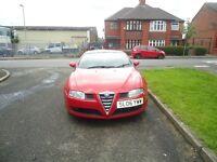 Alfa Romeo GT, Sport, Coupe, full service history, 1 year mot
