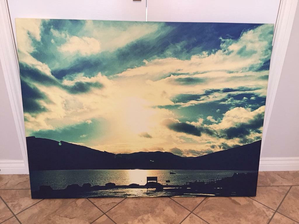 Large Scenic Canvas | in Falkirk | Gumtree