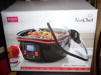 NEO CHEF 18 in ONE MULTI COOKER...BRAND NEW AND BOXED