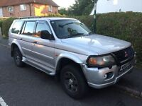 Mitsubishi Shogun sport 3.0 V6 spares or repairs