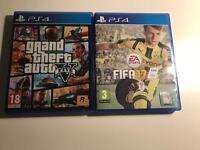 GTA V & Fifa 17 PS4!