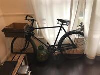 Vintage butchers bike. Ideal for Tweed Run or Shop sign
