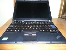Laptop REDUCED TO CLEAR ***Lenovo ThinkPad X201 Intel i5 - M520 2.4GHz
