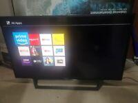Sony 40inch Full HD Smart TV, WiFi & freeview builtin