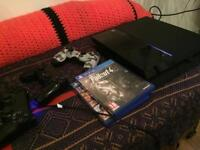 Ps4 bundle 500gb with 3 pads & 12 games