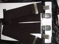3 PAIRS 50mm WIDE BRACES (Brand New)