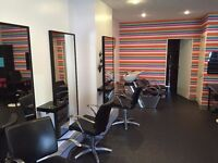 Attractive hairdressers shop in busy residential area (Gilmerton) for rent