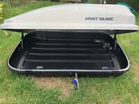 Mont Blanc lockable roof box