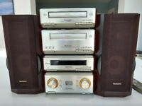 Technics HD550 stereo system with speakers