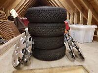 Peugeot/Citroen winter tyres on steel wheels