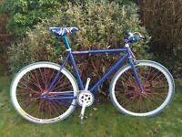 Fixie/free wheel bike