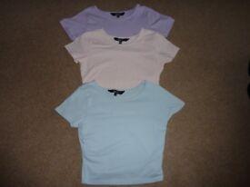 Girls Newlook T-shirt Trio 12-13 years