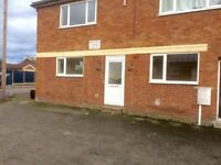 2 Bedroom ground floor flat. Syston. Available now. DSS considered