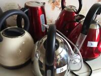 Used kettles in good condition RRP £35