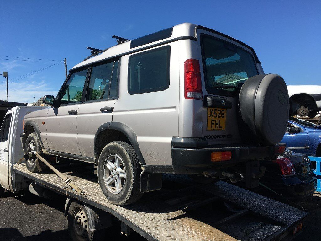 2000 LAND ROVER DISCOVERY TD5 GS 7STR (MANUAL DIESEL)